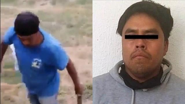 detienen hombre que mató a perrita a machetazos