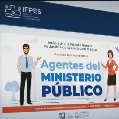 fiscalia de la cdmx cierra convocatoria para postularse a 100 plazas