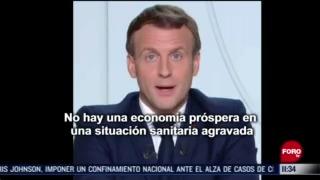 francia vuelve al confinamiento obligatorio