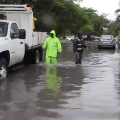 Árboles caídos e inundaciones en Quintana Roo tras paso de 'Gamma'