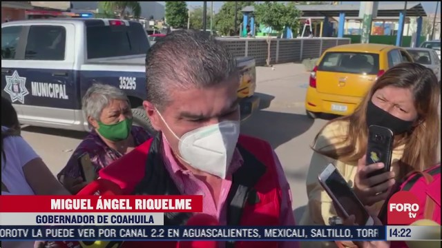 gobernador de coahuila acude a votar