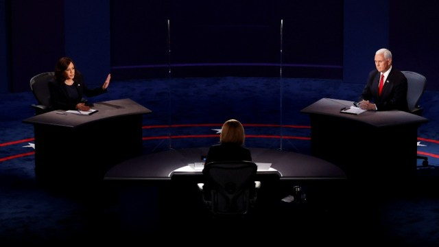 Grandes momentos del debate Mike Pence-Kamala Harris