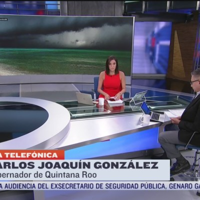 Huracán 'Delta' tocó tierra en Puerto Morelos, confirma gobernador de Quintana Roo