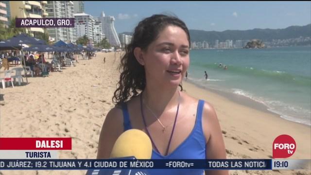 incrementa afluencia de turistas en acapulco