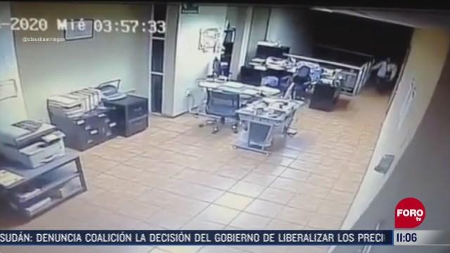 ladron roba objetos de valor en oficina de tlaquepaque jalisco
