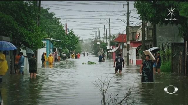 lluvias provocan de nuevo inundaciones en tabasco