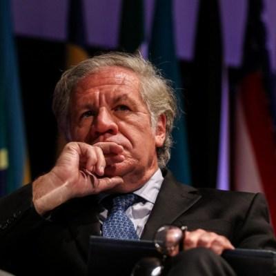 Luis Almagro evita responder directamente a las críticas de México por tema de Bolivia