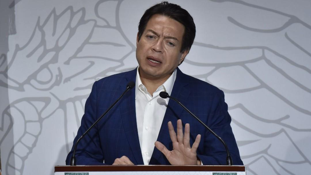 Mario Delgado, presidente de la Junta de Coordinación Política de la Cámara de Diputados