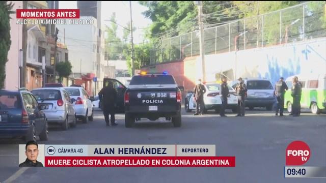 muere ciclista atropellado en calles de la alcaldia miguel hidalgo cdmx