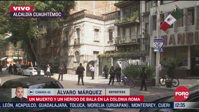 muere una mujer durante asalto en la colonia roma cdmx