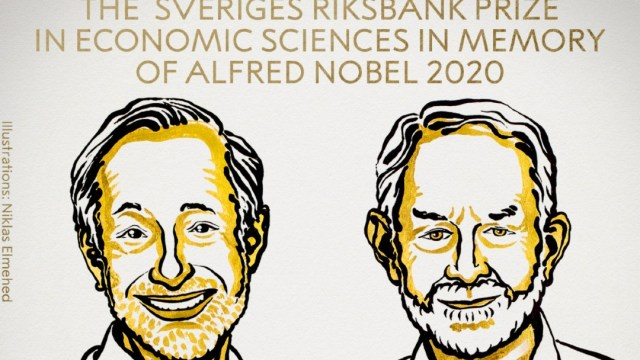 Premio Nobel de Economía 2020 para Paul Milgrom y Robert Wilson