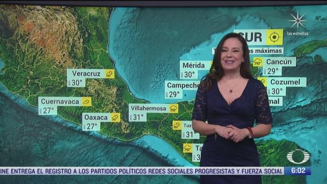 onda tropical 42 provocara lluvias fuertes en el sureste de mexico