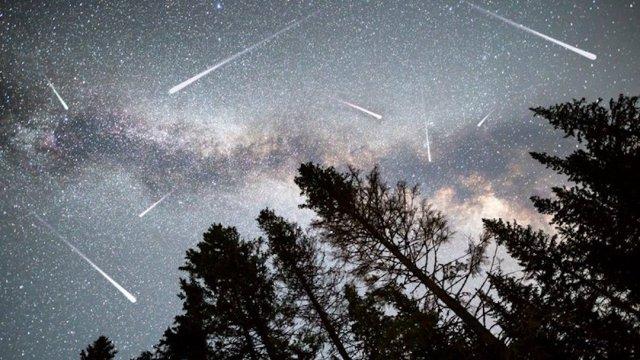 Lluvia Estrellas Oriónidas Octubre 2020