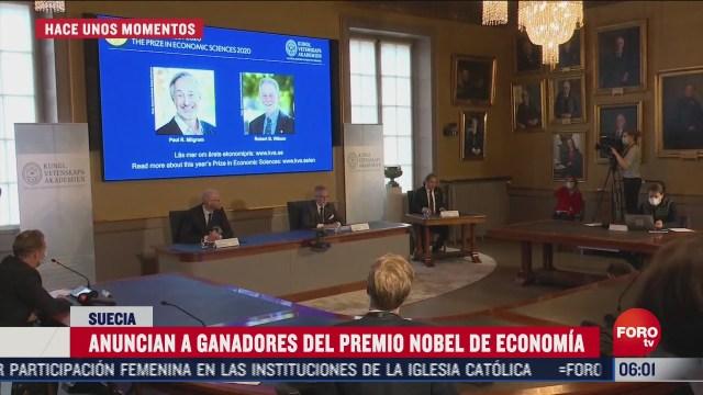 paul milgrom y robert wilson ganan premio nobel de economia