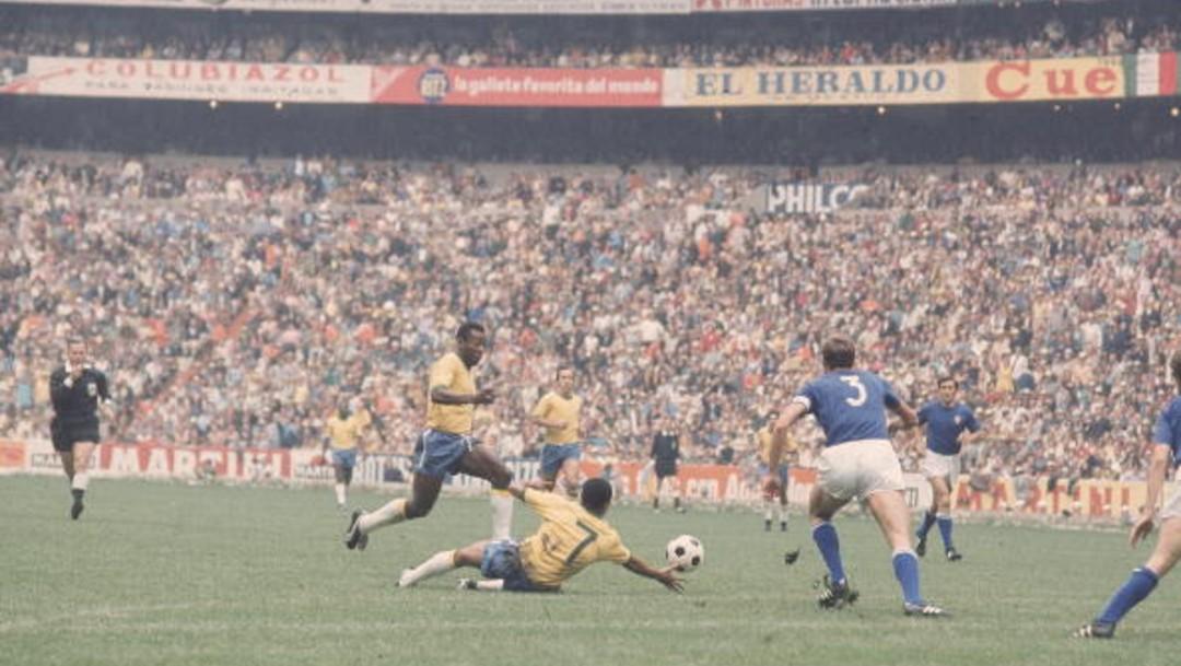 Pelé en 1970