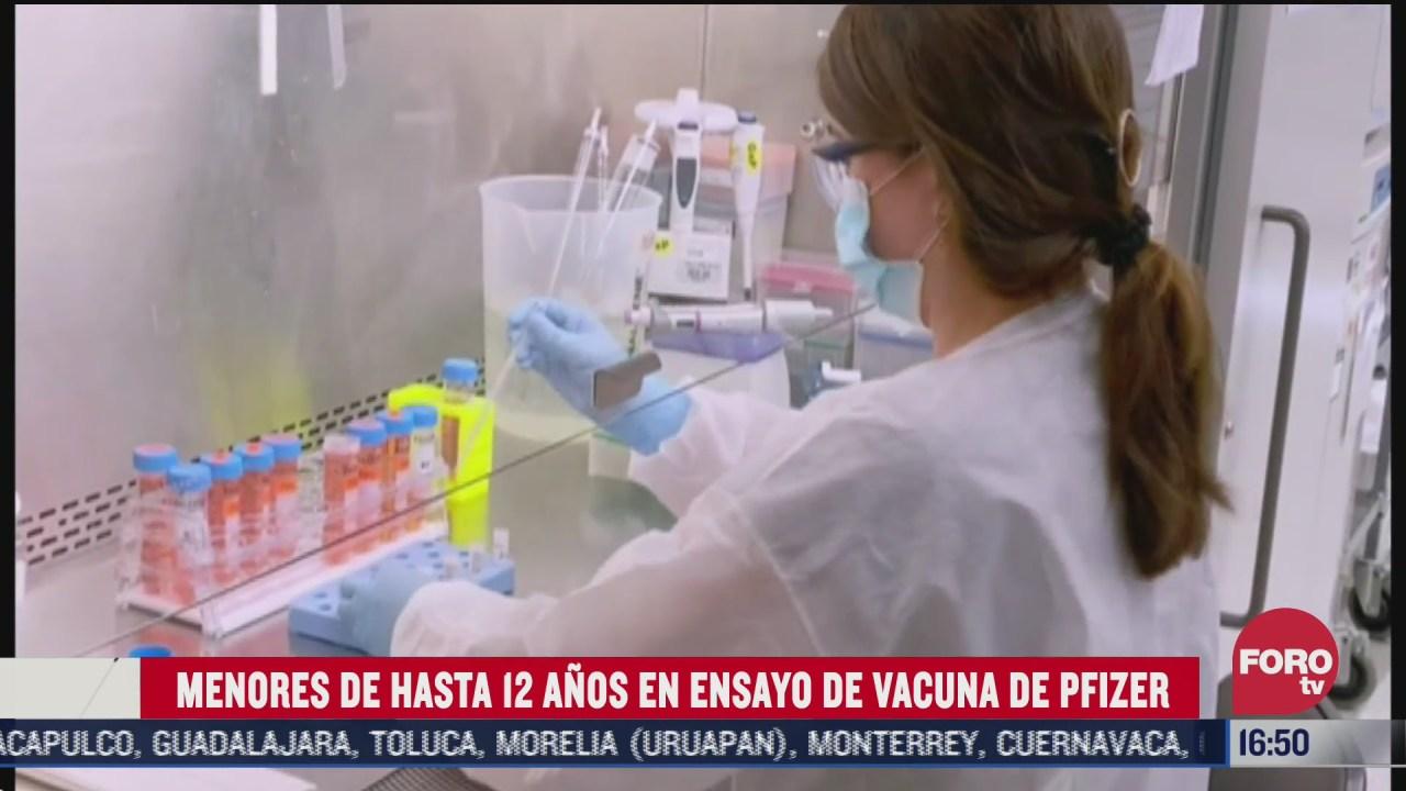 prueban en ninos de 12 anos vacuna experimental covid 19 de pfizer
