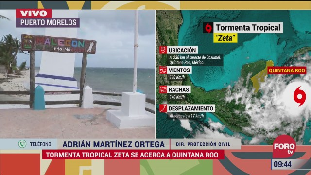 quintana roo suspende actividades por la tormenta tropical zeta