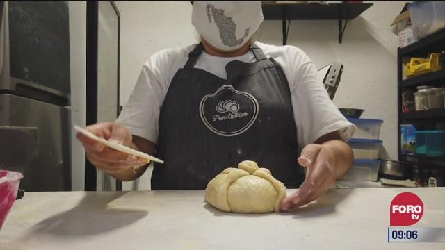 retratos de mexico elaboracion de pan de muerto
