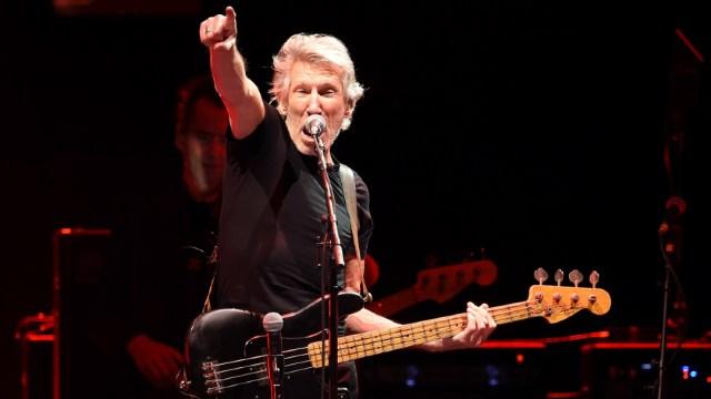 Roger Waters, el exlíder de la legendaria banda británica de rock Pink Floyd