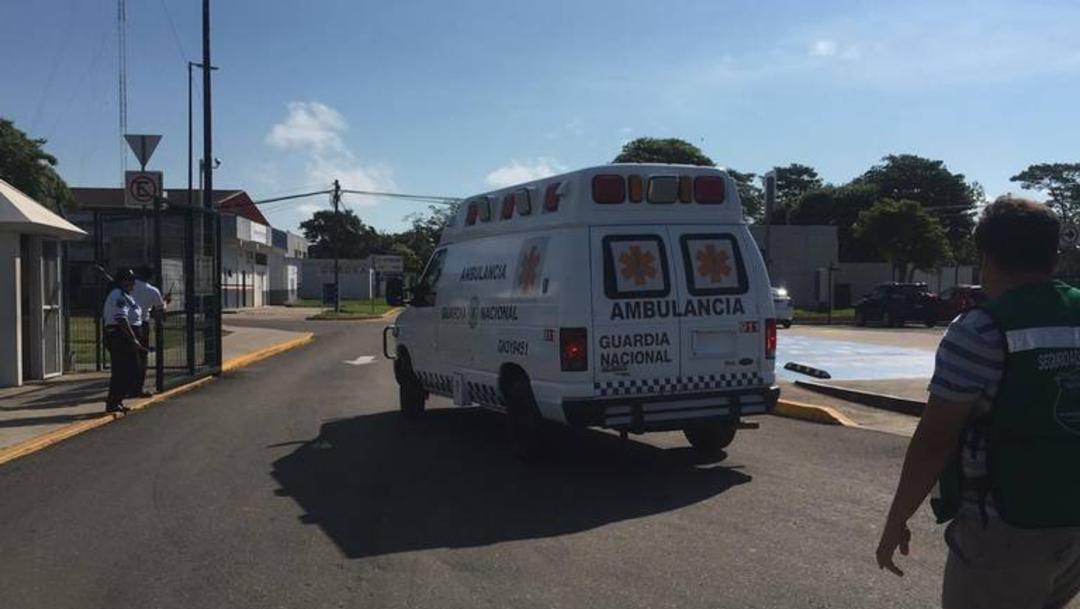 Se desploma helicóptero de Semar en Tabasco; hay tres lesionados