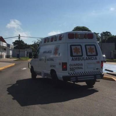 Se desploma helicóptero de Semar en Villahermosa, Tabasco; hay tres lesionados