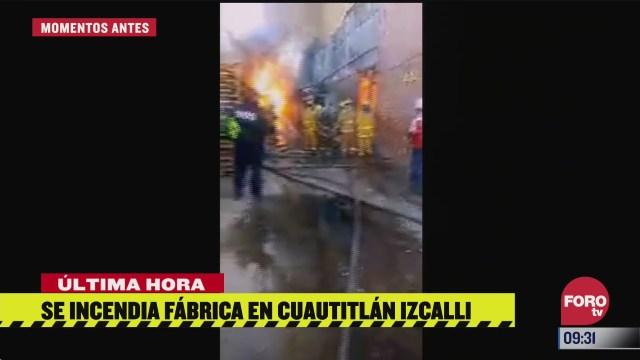 se incendia fabrica de veladoras en cuautitlan izcalli