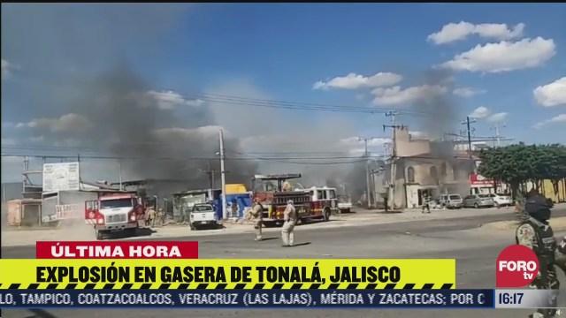 se registra incendio y explosion en gasera de tonala jalisco