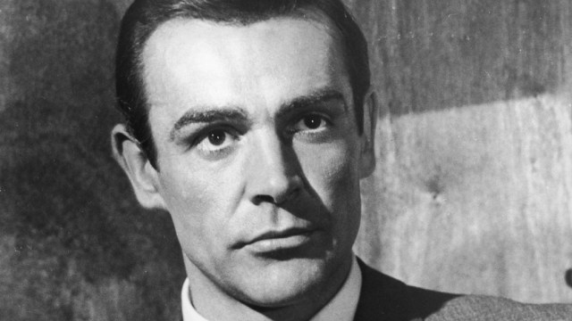 Sean Connery interpretó por primera vez a James Bond