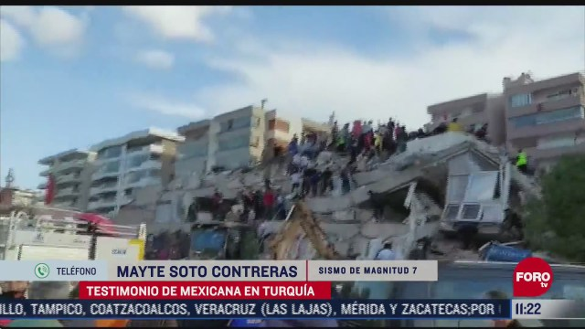 testimonio de mexicana tras sismo en turquia