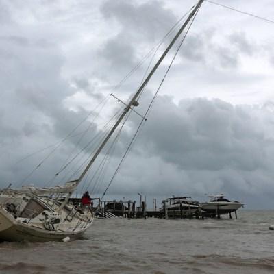 Tormenta tropical 'Gamma' toma fuerza al dejar Yucatán y salir al Golfo de México