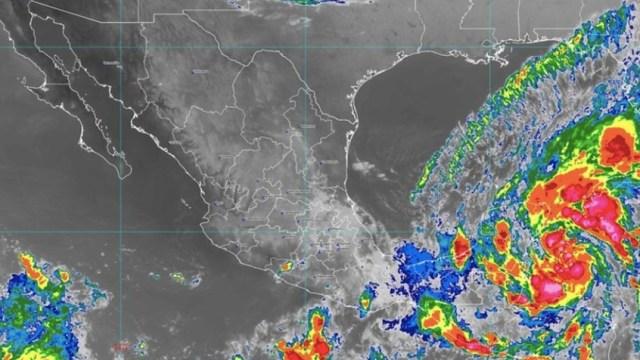 Tormenta tropical 'Gamma' se dirige a Yucatán, México
