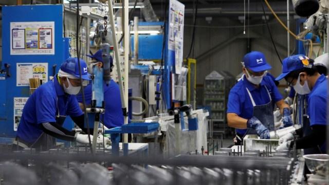 Trabajadores japoneses