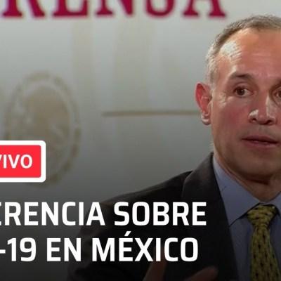 video conferencia coronavirus mexico hoy 16 octubre 2020