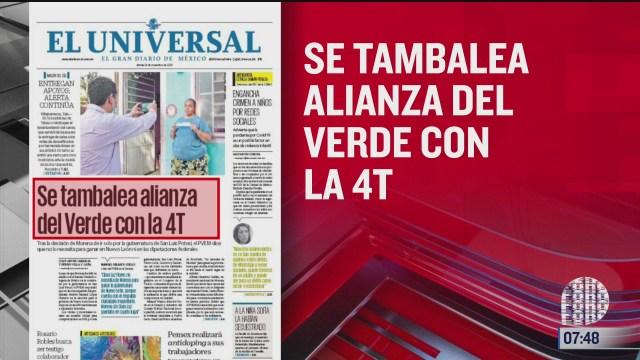 analisis de las portadas nacionales e internacionales del 24 de noviembre del