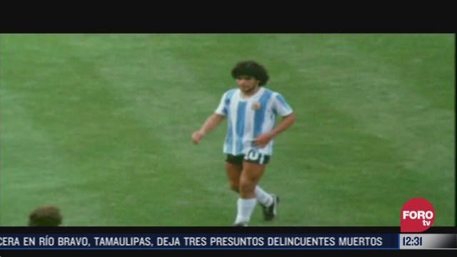 argentina vive uno de sus dias mas tristes por la muerte de maradona