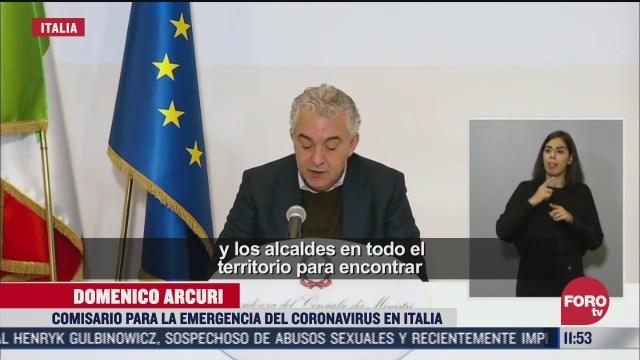 aumentan hospitalizaciones por covid 19 en italia