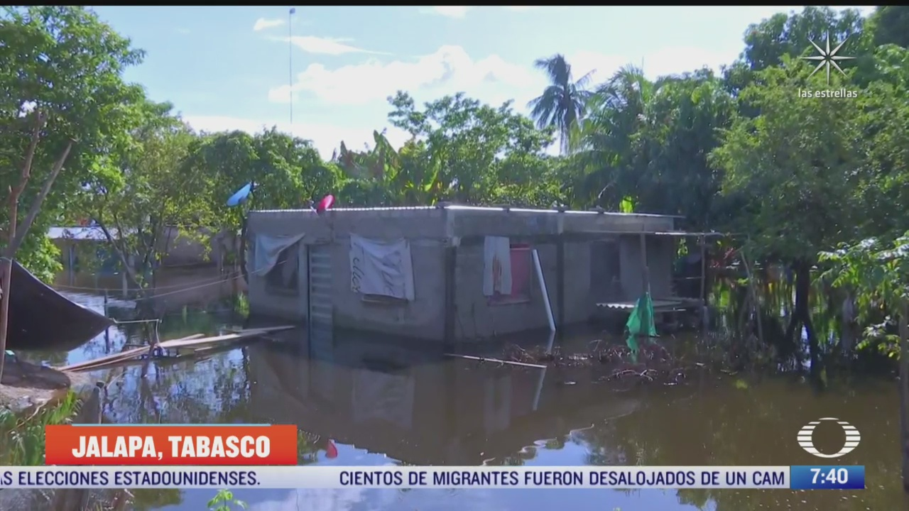 bajo el lodo zona centro de tabasco tras inundaciones