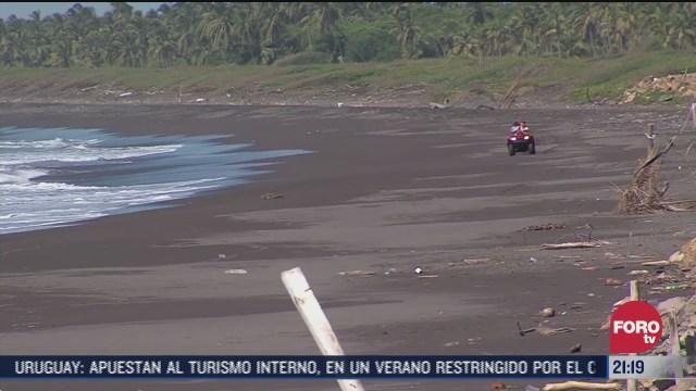 buscan cuerpo de joven ahogado en playas de colima