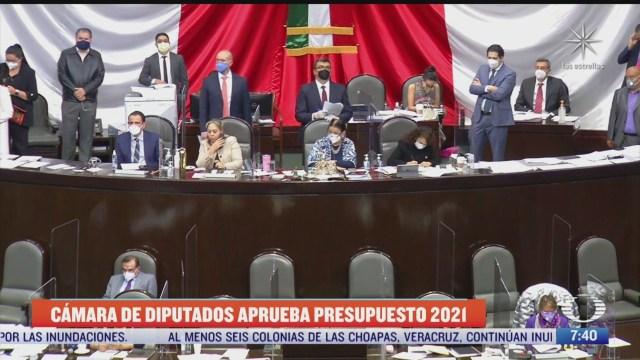 camara de diputados avala presupuesto de egresos
