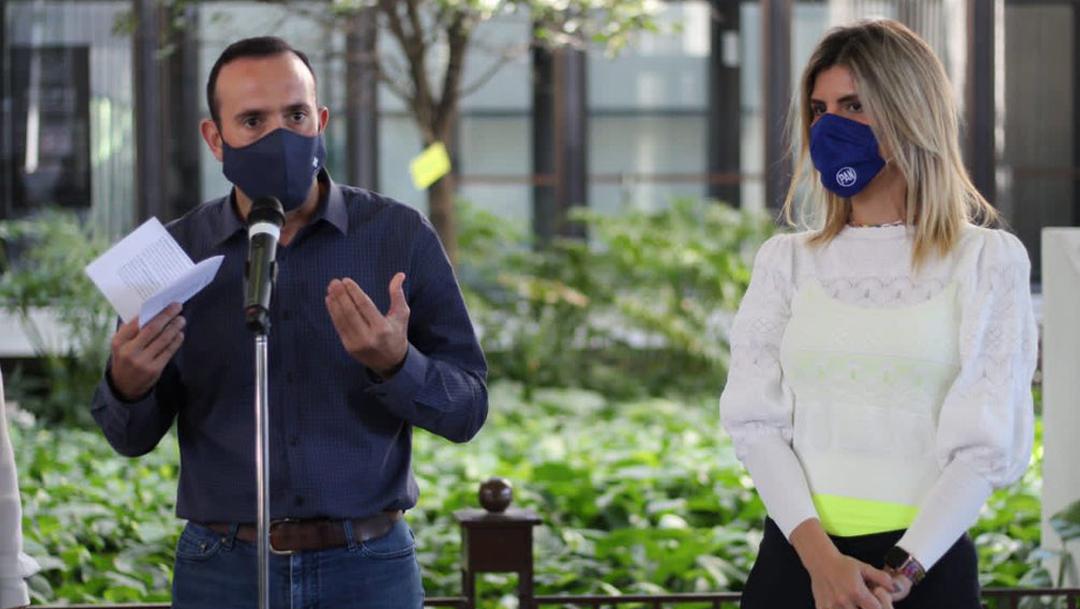 Los panistas de Nuevo León buscan impulsar el uso obligatorio del cubrebocas en la entidad