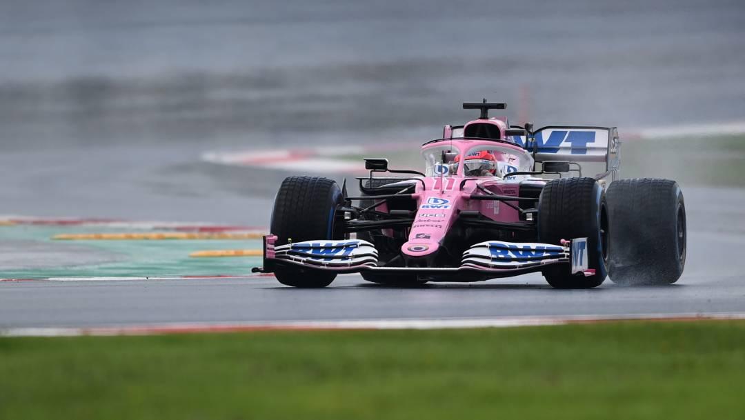 El mexicano 'Checo' Pérez saldrá tercero en el Gran Premio de Turquía