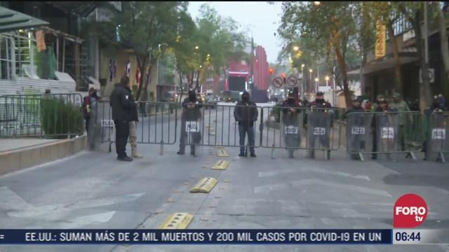 cierran vialidades por conmemoracion de la revolucion mexicana