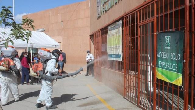 Ciudad Juárez intensifica sanitización urbana para prevenir contagios de COVID-19