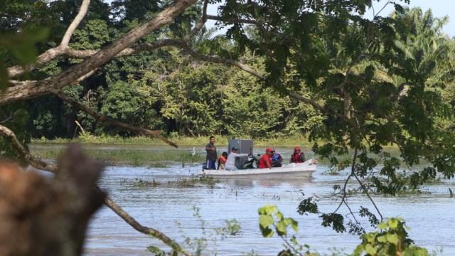 Crecida de río Usumacinta continúa afectando a comunidades de Tabasco