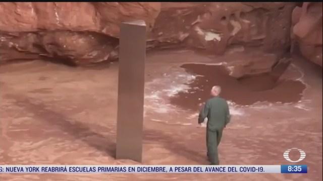 desaparece misterioso monolito del desierto de utah