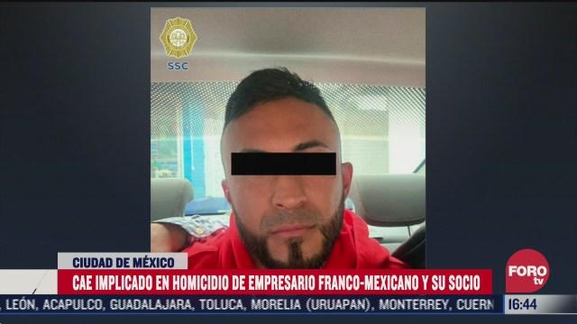 detalles de la detencion de miguel angel tinoco presunto homicida de empresario frances en la cdmx