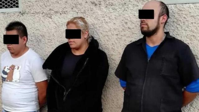Detienen a tres presuntos extorsionadores de comerciantes del Centro Histórico de CDMX