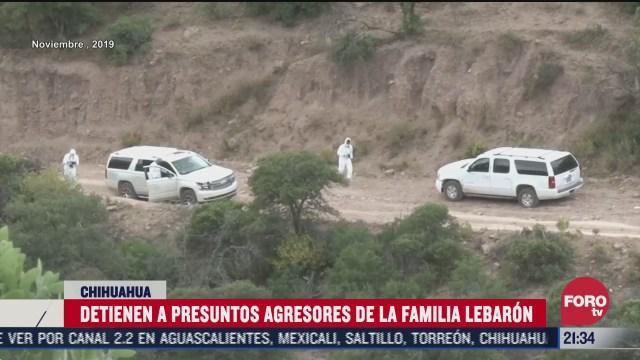 detienen a tres presuntos participantes del crimen contra la familia lebaron