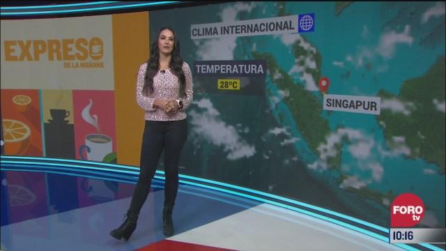 el climaenexpreso internacional del 27 de noviembre del