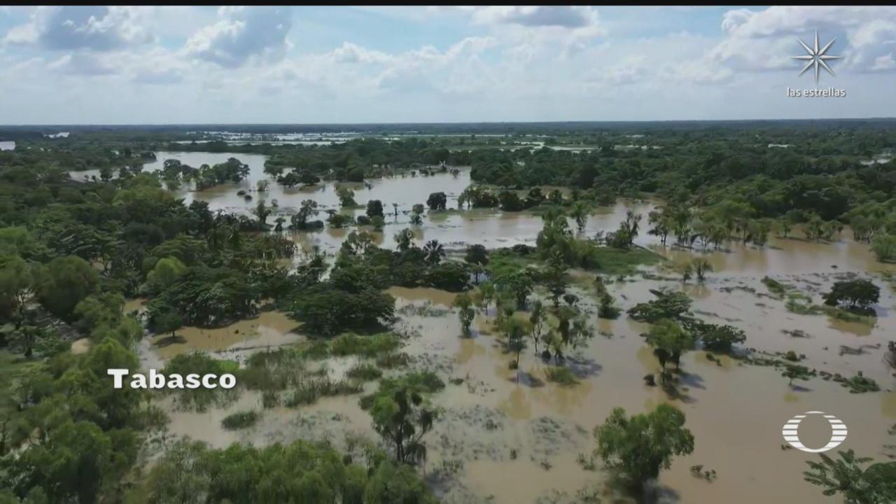 el sur de tabasco tambien se encuentra afectado por las inundaciones